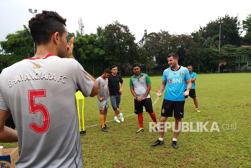 Pemain Baru Bhayangkara FC Mulai Menyatu