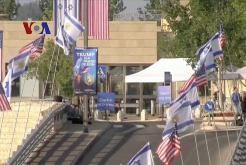 Jerusalem ahead of US embassy inauguration.