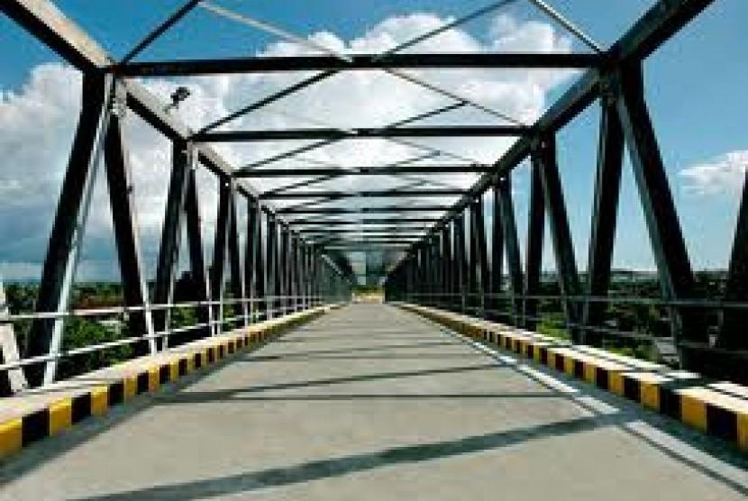 Jembatan kapuas (ilustrasi)