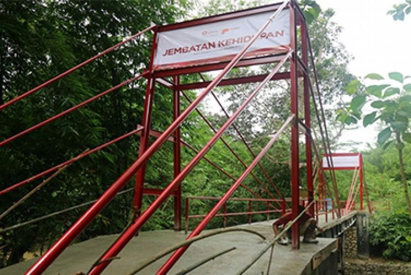 Jembatan Parung Panjang Siap Diresmikan.