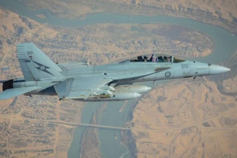 Australia Tarik Jet Tempur Super Hornet dari Irak dan Suriah