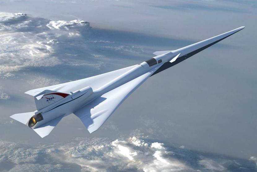 Jet Supersonic rancangan NASA