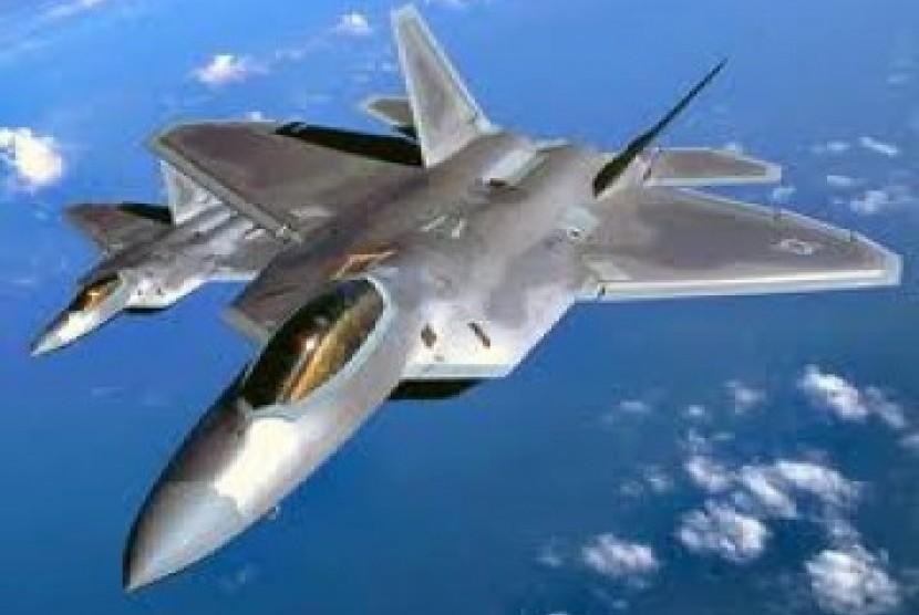 Jet Tempur AS (ilustrasi)