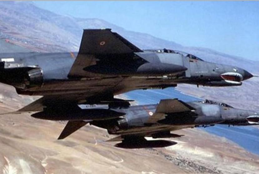 Jet Tempur. Ilustrasi.