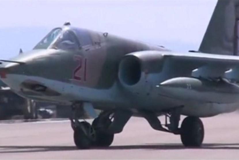 Jet tempur Rusia (ilustrasi)