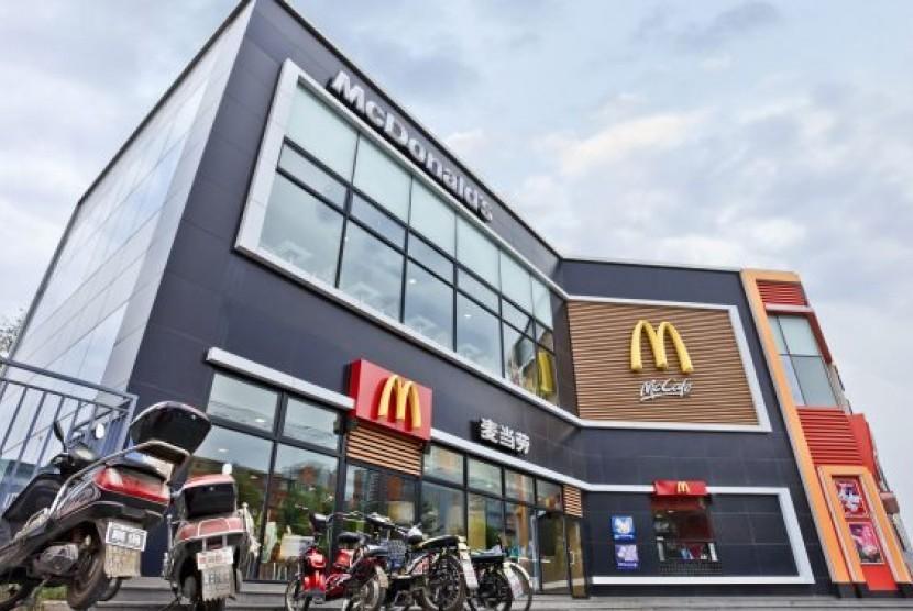 Di Cina, McDonalds Ganti Nama Jin Gong Men