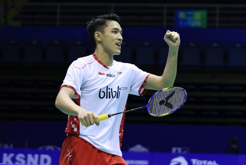 Jonatan Kalah, Tunggal Putra tak Tersisa di Denmark Open