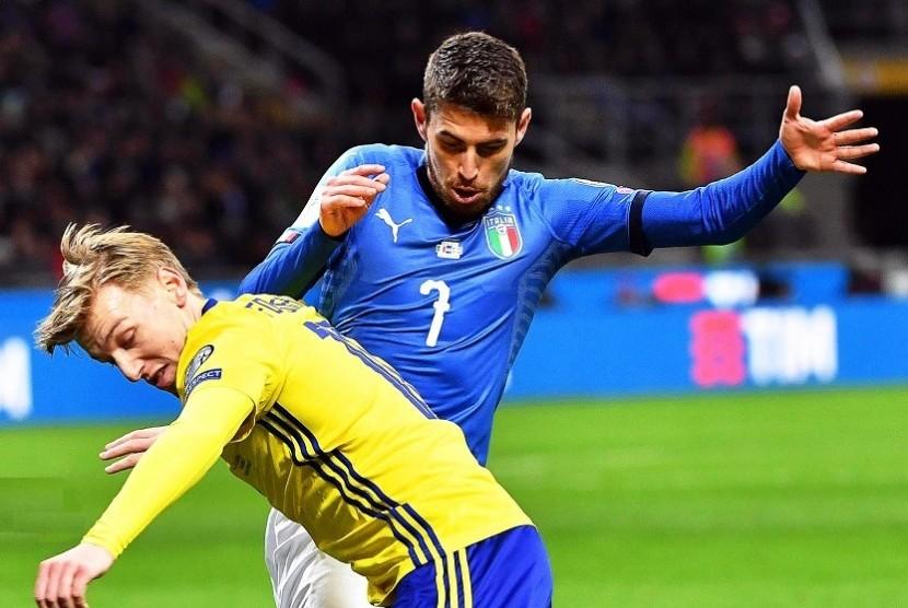 Gagal ke Piala Dunia, Jorginho tidak Menyesal Perkuat Italia