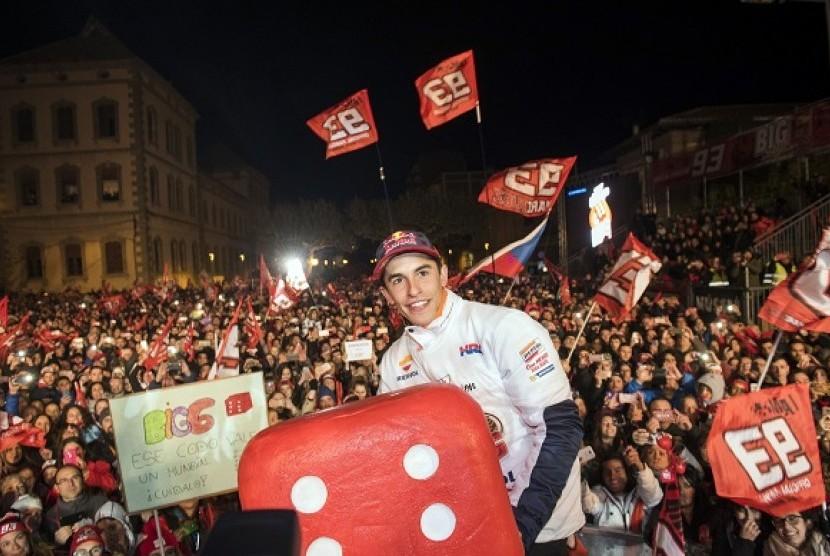 Biaggi: Marquez Tetap Bisa Juara Meski Bersama Ducati