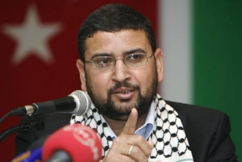 Juru bicara Hamas, Sami Abu-Zuhri (Ilustrasi)