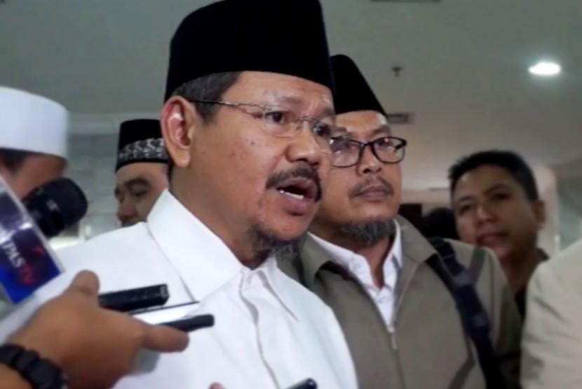 Spokesperson of Hizbut Tahrir Indonesia (HTI), Ismail Yusanto