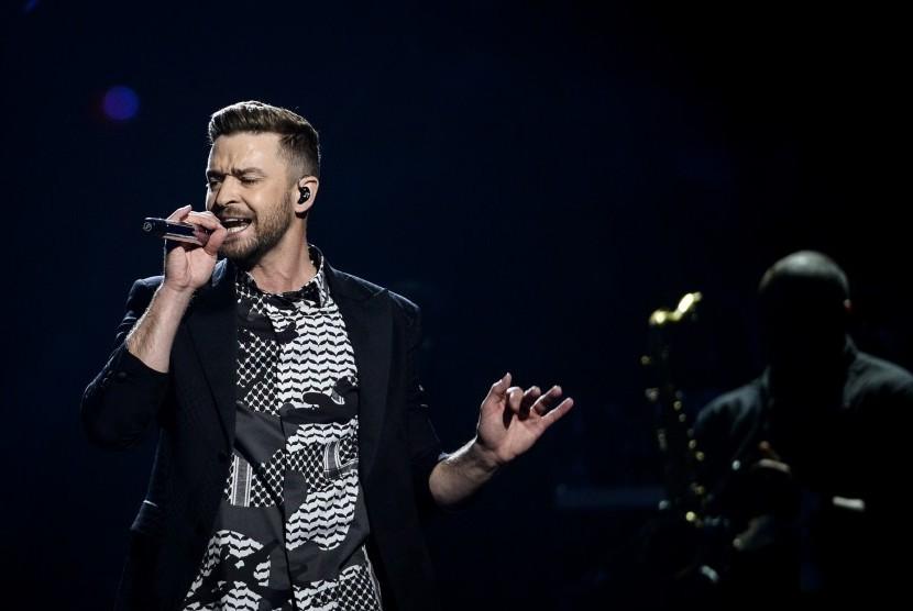 Justin Timberlake Kembali Tampil di Konser Super Bowl