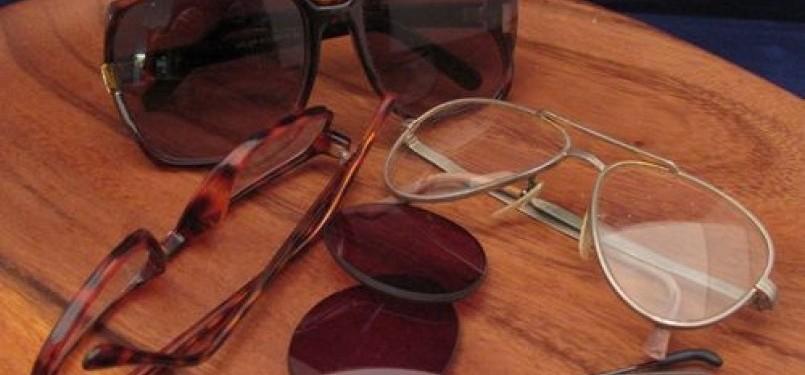 Kacamata (ilustrasi)