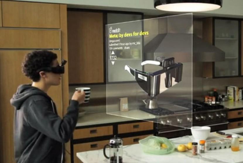 Kacamata yang akan saingi Google Glass?