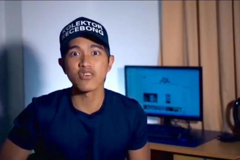 Kaesang Pangarep dalam video