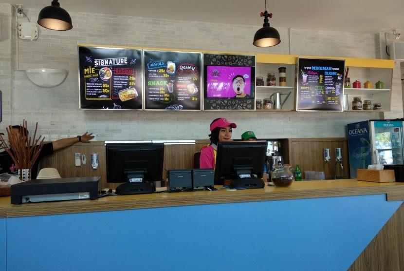 Kafe Hoax, Ancol.