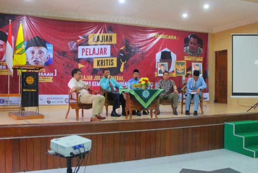 Kajian Pelajar Kritis untuk memperingati Milad Sinar Kaum Muhammadiyah (SKM) ke-92.