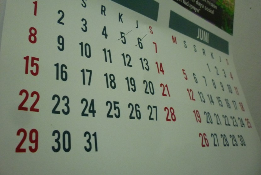 Kalender (ilustrasi)