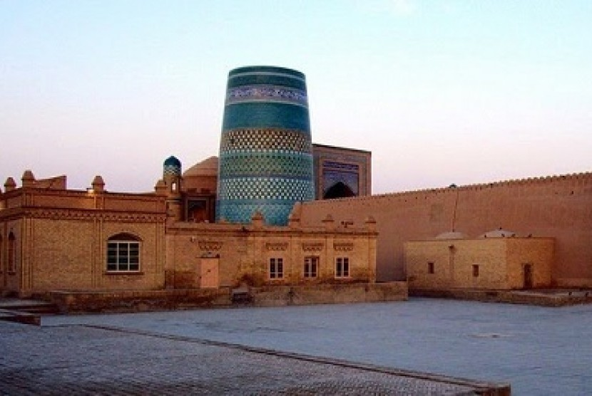 Kalta Minor simbol di Uzbekistan