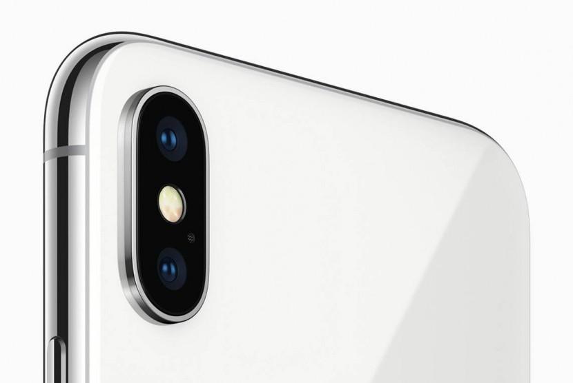 kamera iPhone X. Ilustrasi