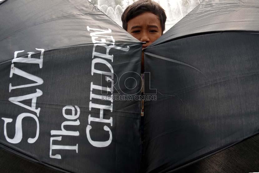Kampanye antikekerasan terhadap anak dan perempuan (ilustrasi)