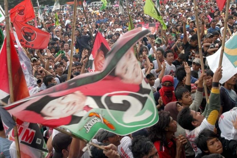 Kampanye pilkada di Jabar (ilustrasi).