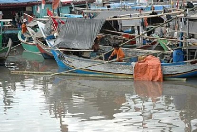 Kampung nelayan Muara Angke
