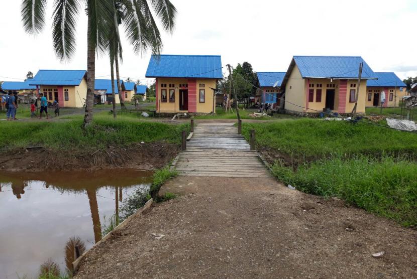 Kampung Warmon Kokoda, tempat tinggal Suku Kokoda yang merupakan satu dari lima desa binaan Majelis Pemberdayaan Masyarakat (MPM) PP Muhammadiyah, Rabu (20/9).