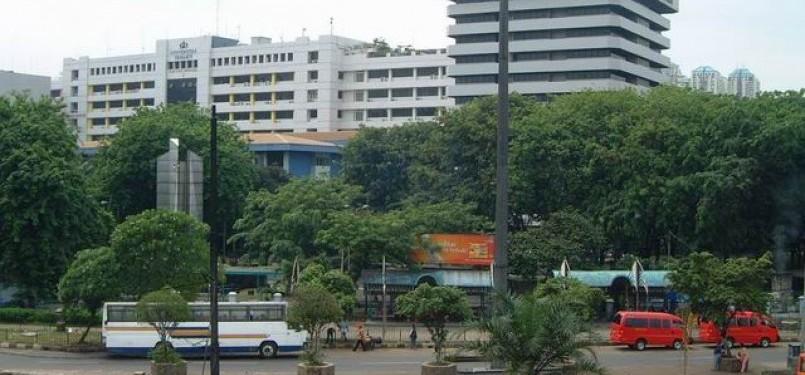 Kampus Universitas Trisakti di Jakarta.