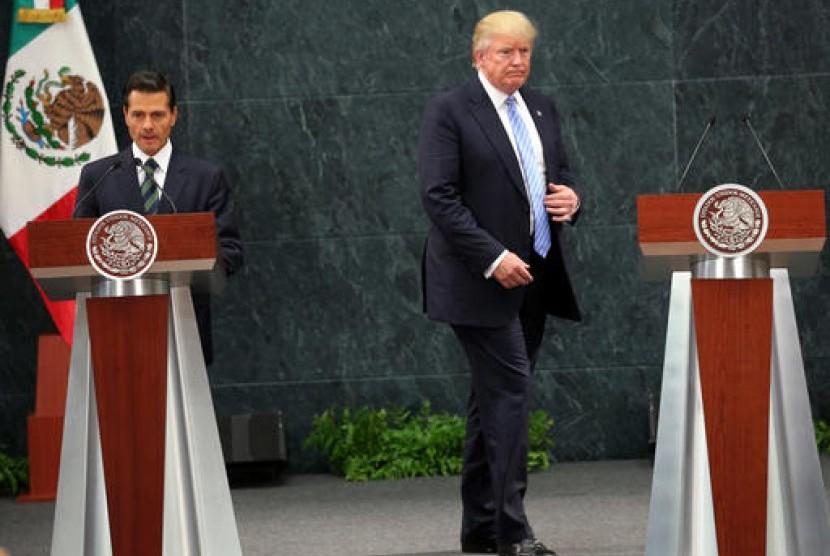 Meksiko Tegaskan tak akan Biayai Tembok Pembatas