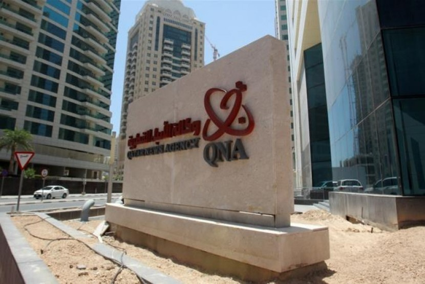 Kantor berita Qatar, Qatar News Agency (QNA).