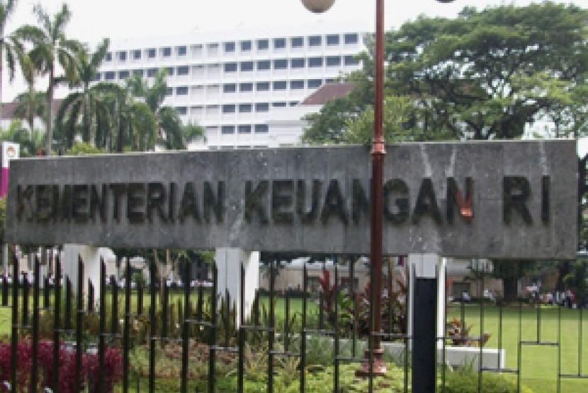 Kantor Kementerian Perekonomian yang berada satu areal dengan Kementerian keuangan