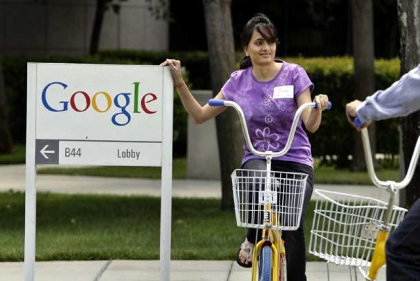 Kantor Pusat Google di Mountain View, California.