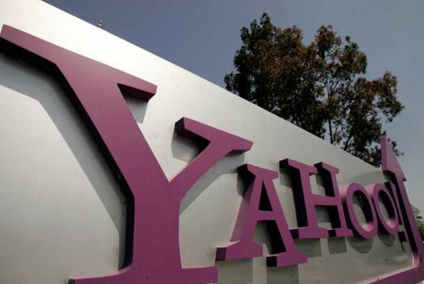 Kantor pusat Yahoo Inc. di Sunnyvale, California.