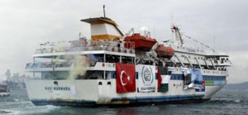 Kapal aktivis Mavi Marmara