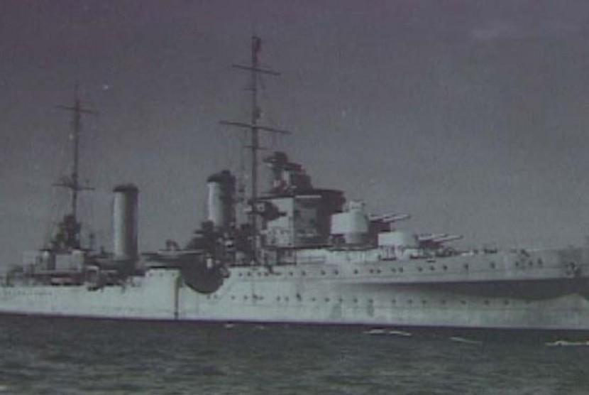 Kapal Perang Dunia II / Ilustrasi