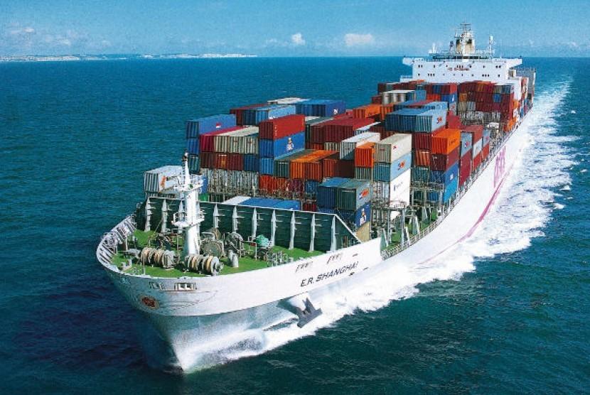 Ekspor Indonesia Turun 3,45 Persen