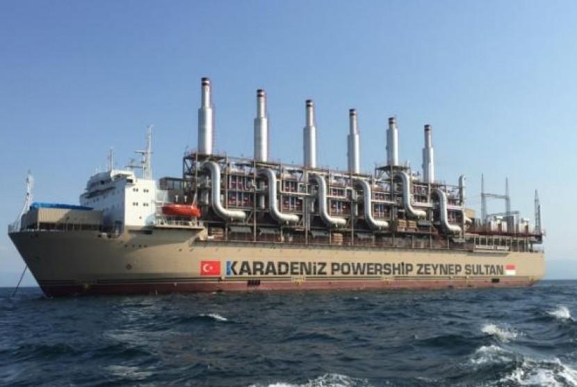 kapal listrik, penggerak listrik