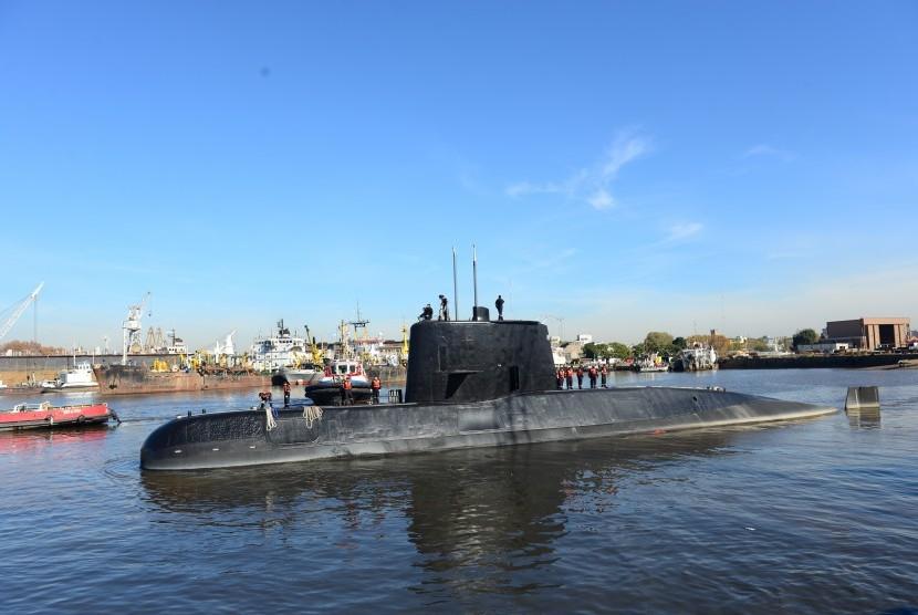 Objek Baru Terdeteksi dalam Pencarian Kapal Selam Argentina