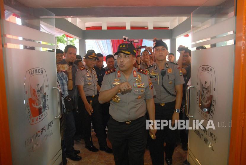 Kapolda Jawa Timur Irjen Pol Machfud Arifin