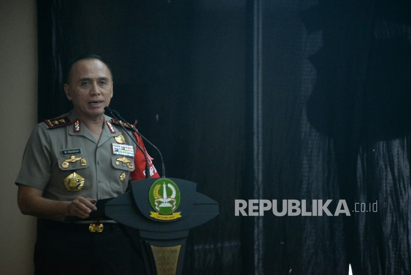Jakarta Metro Police Chief Mochamad Iriawan