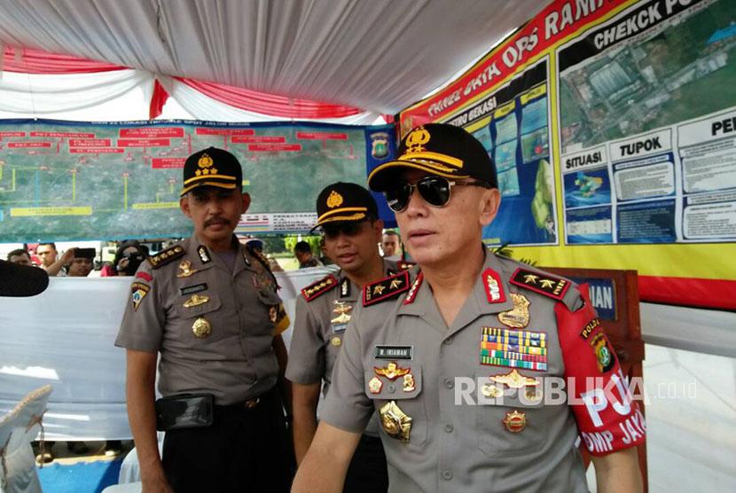 Kapolda Metro Jaya Inspektur Jenderal Mochamad Iriawan.