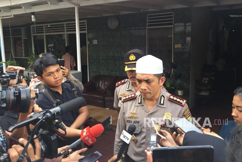 Kapolres Metro Jakarta Selatan Kombes Indra Jafar