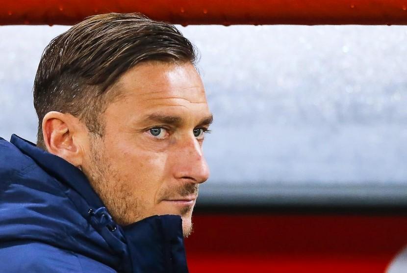 Totti: Satu Juara Bersama Roma Setara 10 Gelar di Klub Lain