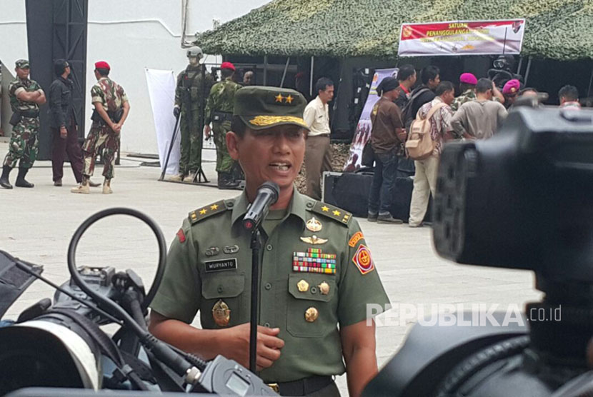 Head of Information Center (Kapuspen) Indonesian Military (TNI) Maj. Gen. Wuryanto