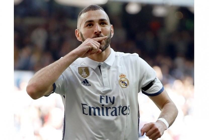 Kehadiran Benzema Jadi Tambahan Kekuatan Madrid Vs Tottenham