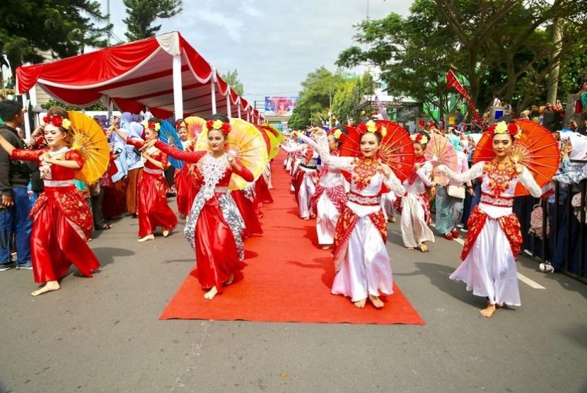 Karnaval Budaya Tasikmalaya October Festival (TOF) 2017