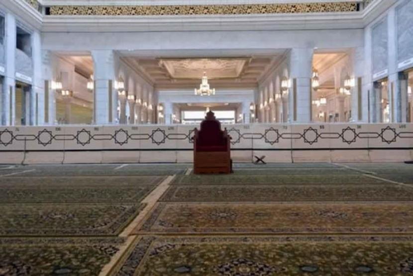 Karpet Masjid al-Haram, Makkah