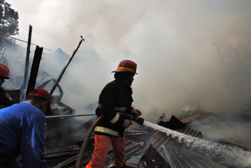 Kebakaran Dominasi Kasus Bencana Selama Kemarau di Sukabumi