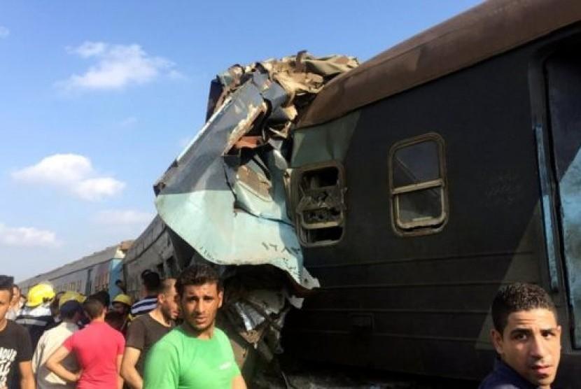 Kecelakaan kereta di Mesir